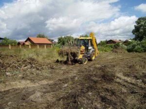 Расчистка дачного участка от кустарников, поросли, мелколесья, под строительство